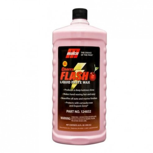 CHERRY FLASH WAX CERA CARNAUBA RAPIDA