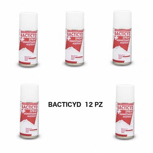 BACTICYD IGIENIZZANTE BATTERICIDA PRESIDIO M.C. 12pz